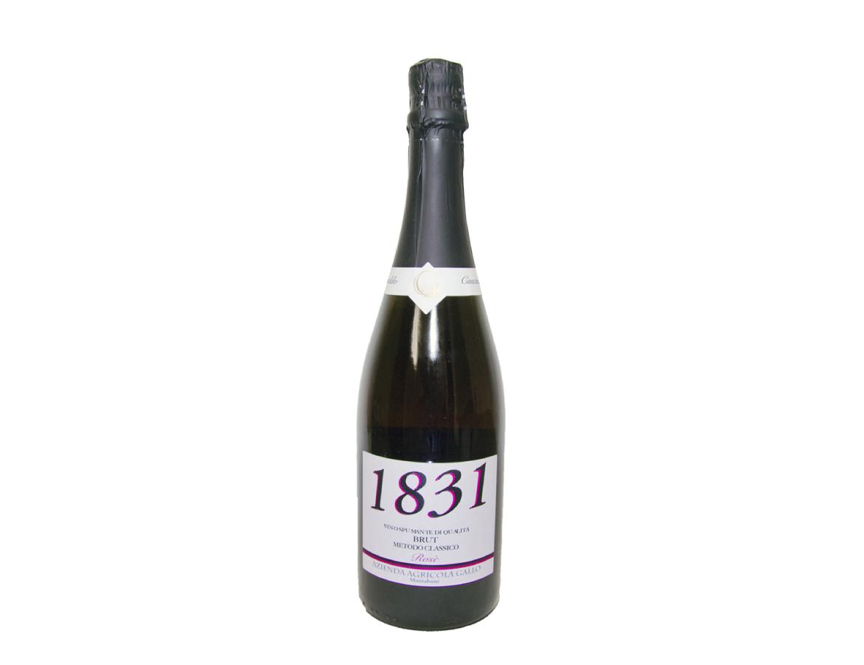 """1831 Rosè"" Vino Spumante di Qualità – brut metodo classico"