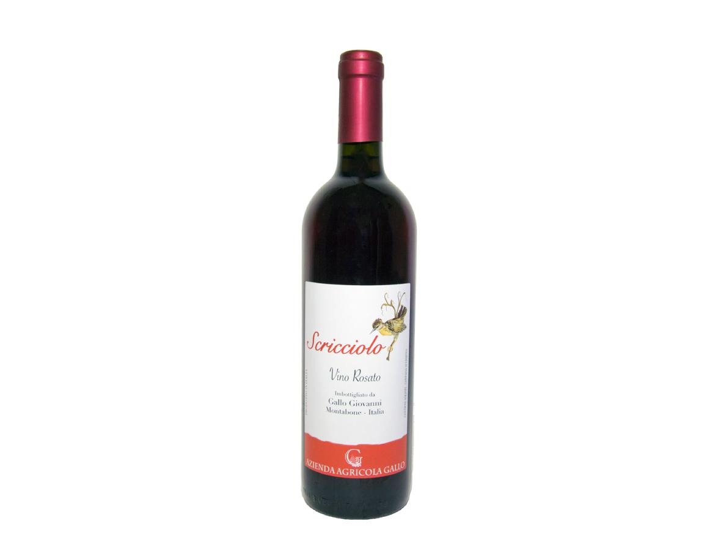 """""""Scricciolo"""" Vino Rosato"""